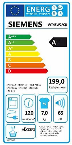 Wärmepumpentrockner Siemens iQ700 WT46W2FCB - 2