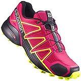 Salomon Speedcross 4 W Trail Runner, Blue Jay/Black, 6 M US Women