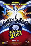 Decorative Wall Poster Pokemon The Movie 2000 : The Power of One Film (27 x 40 Pouces) - 69 cm x 102 cm (2000)