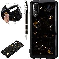 Huawei P20 Hülle,Huawei P20 Silikon Hülle Glitzer,SainCat Bling Glänzend Glitzer Planet Muster TPU Schutz Handyhülle... preisvergleich bei billige-tabletten.eu