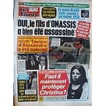 ICI PARIS [No 1553] du 11/04/1975 - CONFIDENCES DE MIREILLE DARC - ALAIN DELON - JEAN-CLAUDE PASCAL - LA FILLE DE JANE MANSON.LES MILICES ANTI-VOYOUS - LE FIL D'ONASSIS A BIEN ETE ASSASSINE - DRAME DE GEORGETTE LEMAIRE - SERGE LAMA.