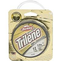 Berkley Trilene - Sedal de fluorocarbono para Pesca, Color Transparente, Talla 6 lbs/0.25 mm