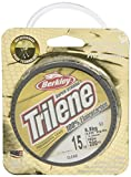 Berkley Trilene Fishing Line Spool 200 Iarde 100% Fluorocarbon Measure 4-25 libbre per Pesca Carpe trot, Trasparente (Transparent), 10 LBS/0.30 mm