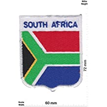 Parches - South Africa - Coat of Arms - Flag - Patch II - Países - South Africa- Parche Termoadhesivos Bordado Apliques - Patch""