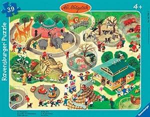 Ravensburger-En el jardín de Animales, 30-48Piezas