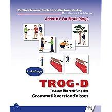 TROG-D: Test zur Überprüfung des Grammatikverständnisses