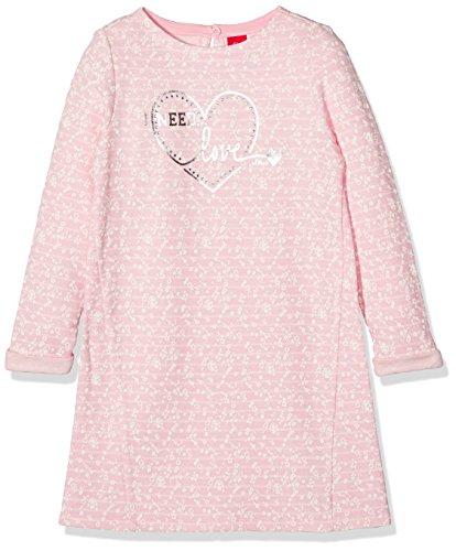 s.Oliver Mädchen Kleid 53.709.82.2721, Rosa (Purple/Pink Aop 41A5), 104 (Rosa Junior Kleider)
