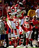 Eric Berry & Marcus Peters 2015 Action Photo Print (20,32 x 25,40 cm)