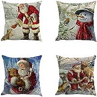 Suchergebnis auf f r weihnachtsdeko kissenbez ge bettlaken kissenbez ge k che - Amazon weihnachtsdeko ...