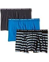 Bjorn Borg Men's Basic Striped Pack of 3 Boxer Shorts
