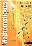 Mathématiques Bac Pro Tertiaire