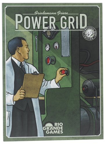 Rio Grande Games RGG240 Power Grid Board Game