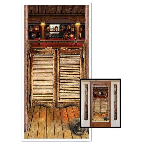 Preisvergleich Produktbild Beistle 57127 Saloon Türbezug, 30-Zoll von 5-Fuß