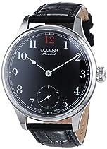 Dugena Herren-Armbanduhr EPSILON 1 Analog Handaufzug Leder 7000055
