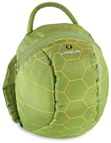 Littlelife Kinder Tagesrucksack Toddler Animal Schildkröte, mehrfarbig, 2 -