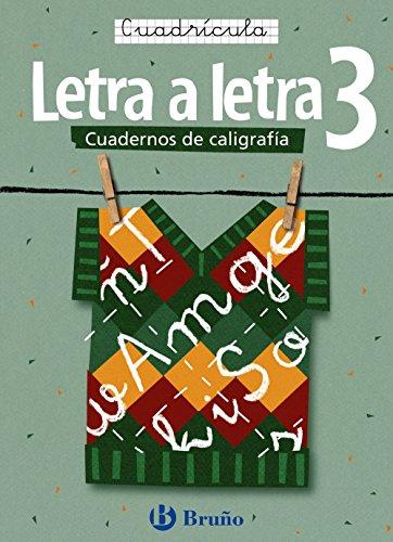 Caligrafía Letra a letra Cuadrícula 3 (Castellano - Material Complementario - Caligrafía Letra A Letra) - 9788421639740