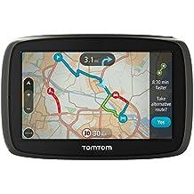 TomTom GO 60 - Navegador satélite con mapa en tiempo real (Reino Unido, República de Irlanda y tráfico) 10,9 cm (4,3 pulgadas), mapa de Europa occidental (importado)