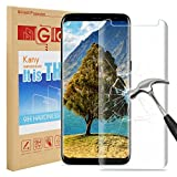 Samsung Galaxy S8 Screen Protector, Kany Galaxy S8 Screen Protector [Easy Installation] [Anti-Fingerprint] for Samsung Galaxy S8 - Transparent (1 pack)