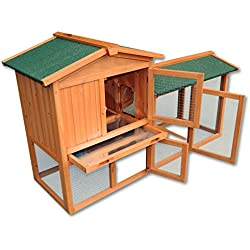 Gallinero gallina casa corral – Pet Hutch Bunny casa/Gran Run
