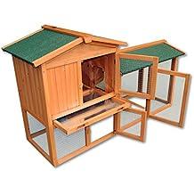 Gallinero gallina casa corral–Pet Hutch Bunny casa/Gran Run