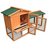 Gallinero gallina casa corral - Pet Hutch Bunny casa grande/Run