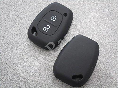 Coque clé Renault Trafic Master Opel Vivaro Nissan Primastar en silicone, coque de protection Noir