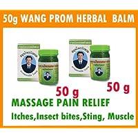2x 50g. Bar leria Lupulina Thai Herbal Spa Balm Relief muscular Pain aches