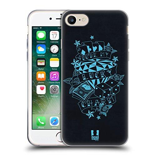Head Case Designs Say Yes Diamanti Cover Morbida In Gel Per Apple iPhone 4 / 4S Portfortuna