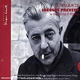 Le meilleur de Jacques Prevert : 16 chansons et poèmes [Import anglais]