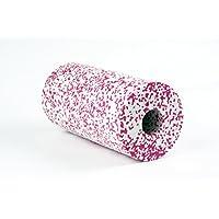 BLACKROLL - Das Original Med Farbe Weiss/Pink plus Übungs-DVD und Übungsanleitung Faszienrolle Massagerolle