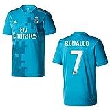 adidas Real Madrid Trikot 3rd Herren 2018 - Ronaldo 7, Größe:L