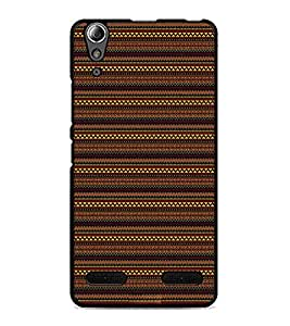 PrintDhaba Tribal pattern D-1875 Back Case Cover for LENOVO A6000 PLUS (Multi-Coloured)