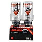 ORIGINAL LIMASTAR QUALITY 2x D2S XENON BRENNER 6000K +50% ULTIMATE PERFORMANCE