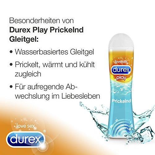 Durex Play Prickelnd Gleit- und Erlebnisgel, mit prickelndem Effekt, 1er Pack (1 x 50 ml) - 3