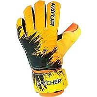 Mayor Catcher Soccer Goal Keeping Orange Black Gloves