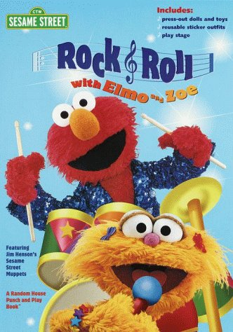 Rock & Roll With Elmo and Zoe (Sesame Street) PDF Books