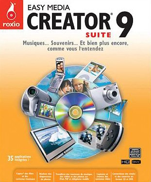 Easy Media Creator Suite - (version 9 ) - ensemble complet - 1 utilisateur - CD - Win - français - Home Easy Design-software