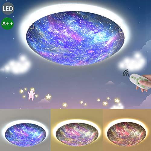 LED Lámpara de techo de Cristal Regulable Luz de techo Moderno Decoración...