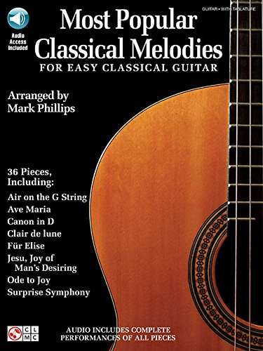 Most popular classical melodies guitare+enregistrements online