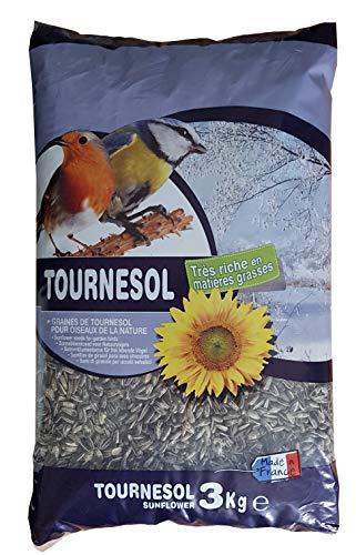 AIME Nourriture pour Oiseaux, Tournesol Oiseaux du Ciel 3 Kg