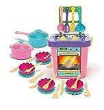 Wathose Party World Küche Set mit 31Elements Rosa