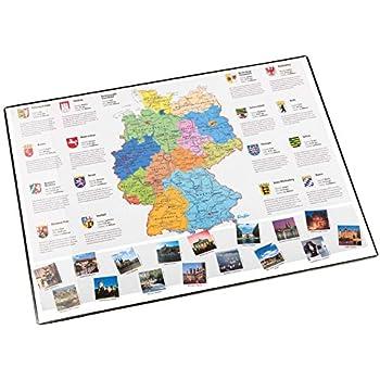 Pagna Schreibtischunterlage Schreibunterlage Fussball Deutschland 54 x 36 cm