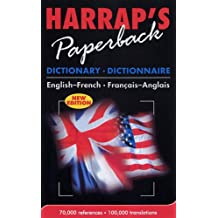 French - English Paperback Dict (Dictionary)