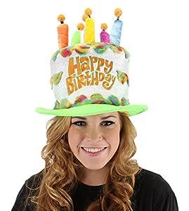 Elope A7707 - Sombrero con forma de pastel de cumpleaños