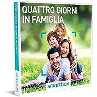 Smartbox Cofanetto Regalo- QUATTRO GIORNI IN FAMIGLIA - 323 soggiorni a scelta in B&B, agriturismi e hotel 3*