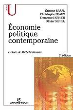 Économie politique contemporaine de Étienne Barel