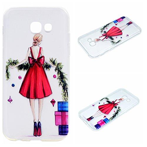 Qiaogle Téléphone Coque - Soft TPU Silicone Housse Coque Etui Case Cover pour Apple iPhone 5 / 5G / 5S / 5SE (4.0 Pouce) - QI12 QI15