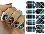 Kompletter Wrap Nail Art Wasser Transfer Aufkleber Sticker Spalier - KG002A Nail Sticker Tattoo - FashionLife