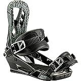 Nitro Snowboards–Attacchi snowboard uomo Pusher BDG '17, Uomo, Snowboardbindung PUSHER BDG '17, nero, M