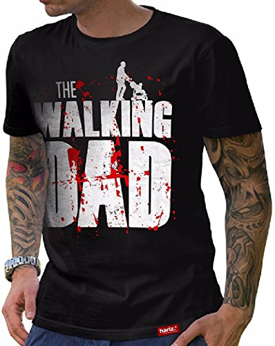 HARIZ  Herren T-Shirt Papa Collection 36 Designs -
